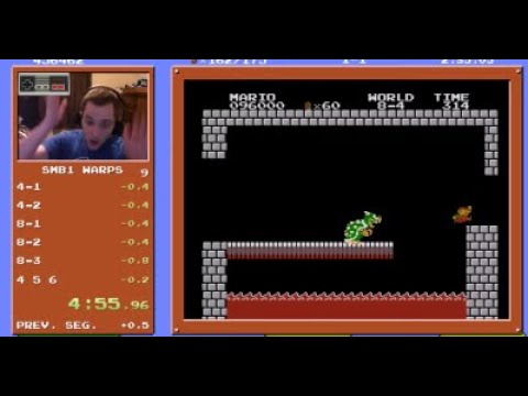 Photos: Theresa - Watch gamer beat 'Super Mario Bros.' in under 5 minutes & break record