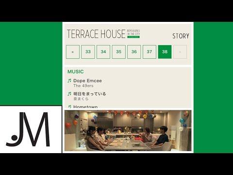 The49ers dope emcee k pop lyrics song for Terrace house on netflix