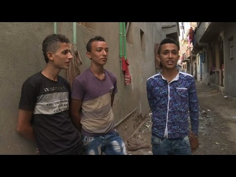 Video: Young Egyptians Willing To Risk Their Lives To Reach Europe