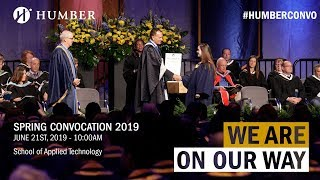 Humber Spring 2019 Convocation - School of Applied Technology