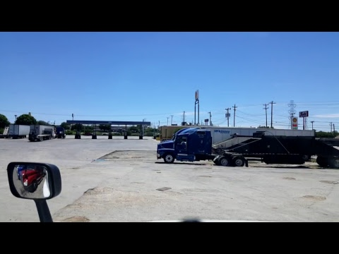 BigRigTravels LIVE! New Braunfels to San Antonio, Texas Interstate 35 South-April 22, 2018
