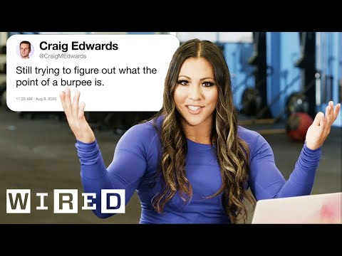 CrossFit Coach Answers CrossFit Questions From Twitter | Tech Support | WIRED