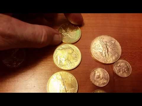 Gold Coin Side by Side Comparison