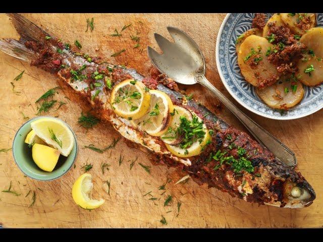 مطبخ اسيا - البورى بالصلصة الخاصة   كزبرية السمك - الجزء الأول