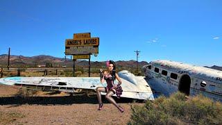 Las Vegas Abandoned Brothel and PLane Crash