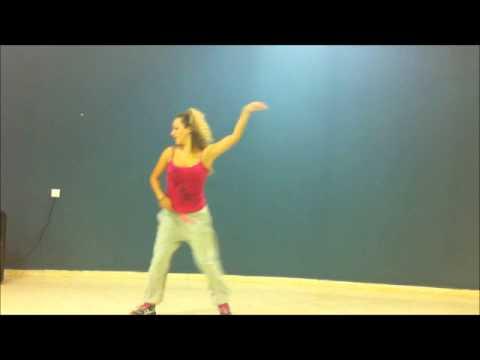 Zumba ® fitness class with Shai Eisenberg - El Baila De La Cintura