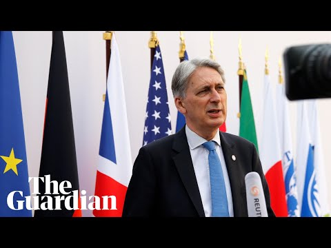 Philip Hammond says he greatly fears the impact of a no-deal Brexit