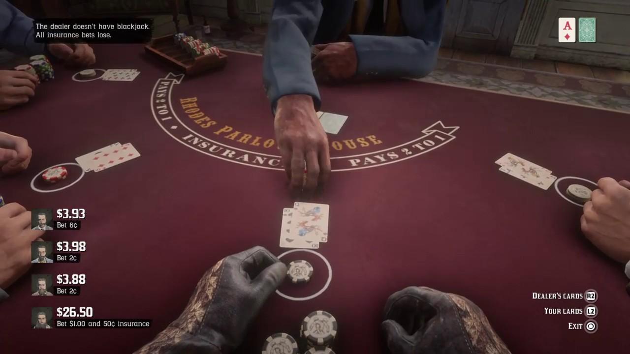 blackjack rdr2