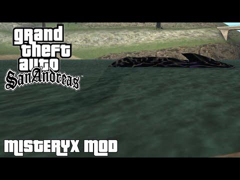 El Espiritu De La Madre De CJ Y El Monstruo Del Lago Ness - MISTERYX MOD GTA SAN ANDREAS