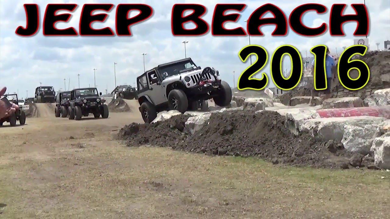 2016 Jeep Beach Rock Crawl Daytona Florida
