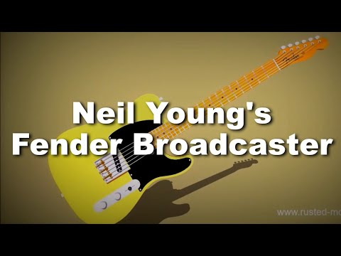 Neil Young's 1950 Fender Broadcaster
