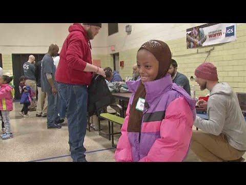 Children in need get new coats thanks to Operation Warm, IGS Energy