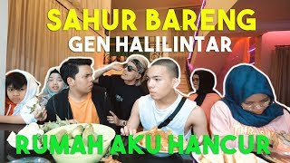 Download Video SAHUR BARENG KELUARGA DI RUMAH AKU. RUSUH !! MP3 3GP MP4