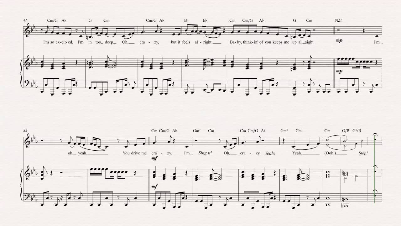 Violin you drive me crazy britney spears sheet music chords violin you drive me crazy britney spears sheet music chords vocals hexwebz Image collections