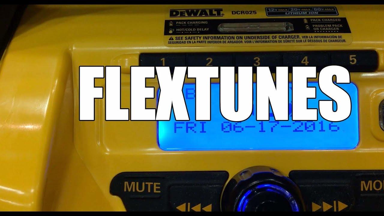 dewalt radio dcr025. dewalt 20v max bluetooth tough radio and charger dcr025 - media first look dcr025 a