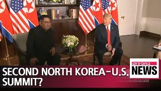 """Trump says he would """"most likely"""" meet again with N. Korean leader Kim Jong-un"""