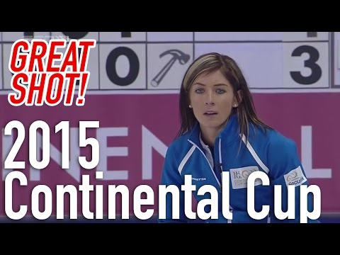 Eve Muirhead Triple vs. Val Sweeting - 2015 World Financial Group Continental Cup