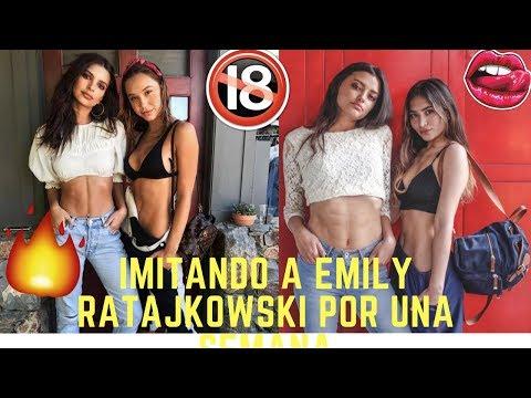 IMITANDO A EMILY RATAJKOWSKI POR UNA SEMANA!! Valeria Faudel Blogs