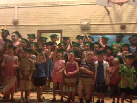 Kindergarten graduation Lowell Elementary School