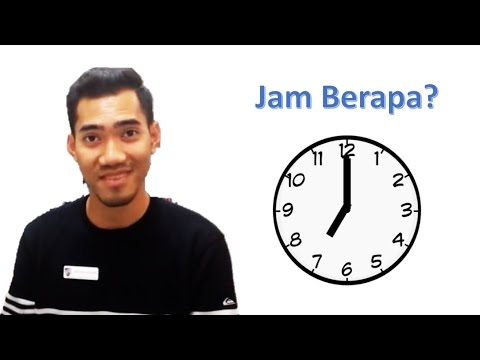 Time Part 1 - Learn Real Bahasa Indonesia #15