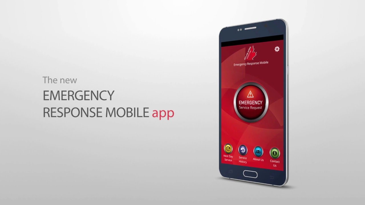 Captivating Atlas Apex Roofing Inc.  Emergency Response Mobile App
