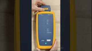 Setting Reference on the DSX CableAnalyzer™