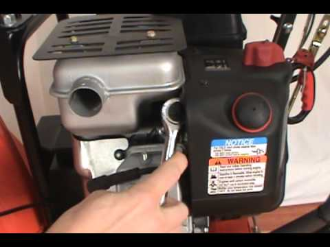 Changing The Spark Plug Husqvarna Two Stage Snow Blower