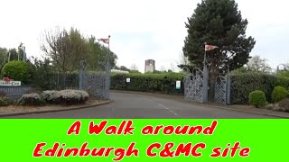 EDINBURGH CARAVAN AND MOTORHOME CLUB SITE - A walk around Edinburgh C&MC site -  May 2019 (Part 6)