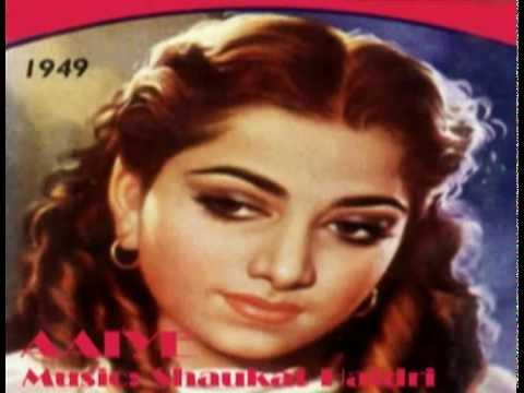Mohe Aane Lagi-Mubarak Begum-Aaiye (1949).flv