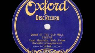 Down By The Old Mill Stream (Oxford 19410)