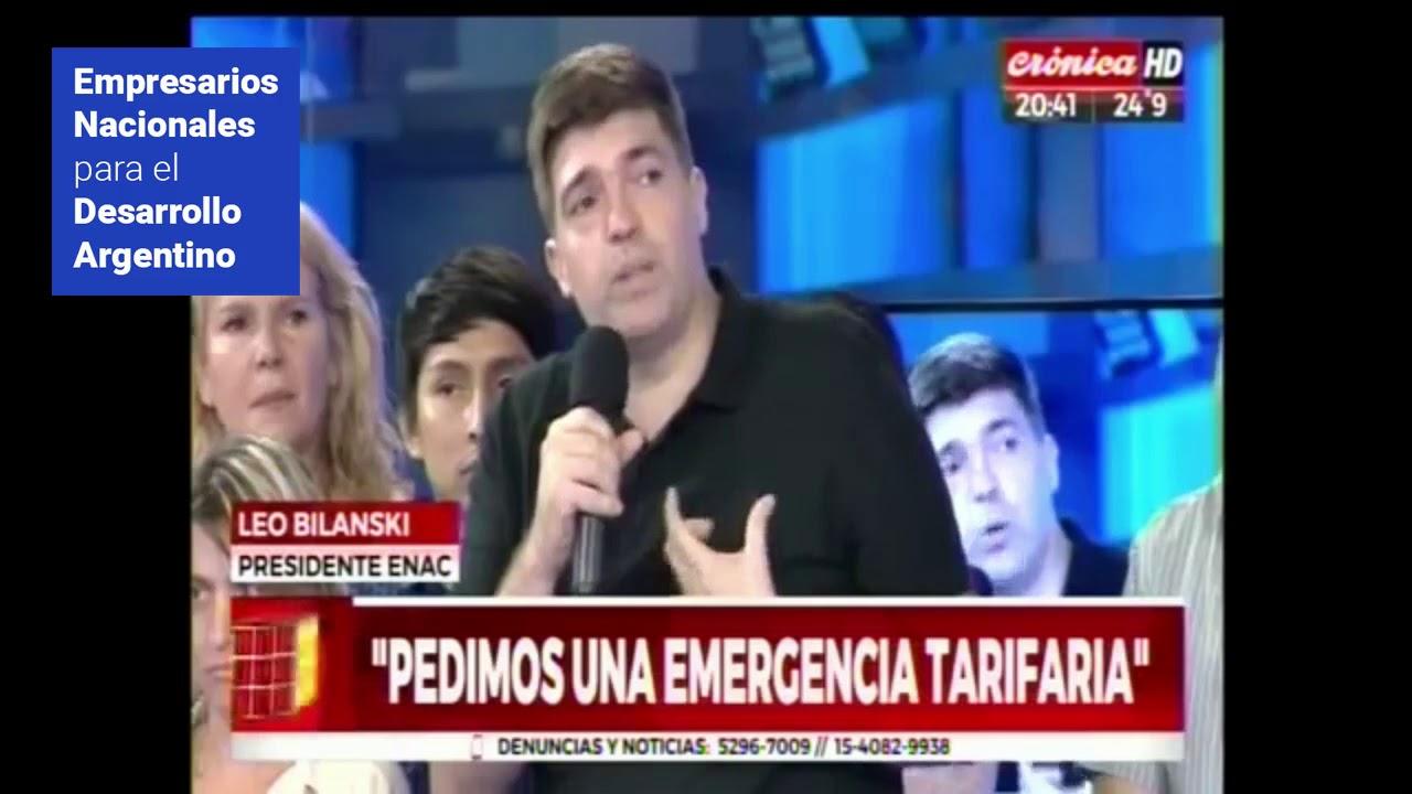 Tarifas: Empresarios Nacionales hicieron el Ruidazo en Crónica TV