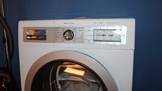 bosch HomeProfessional tumble dryer little review and first run