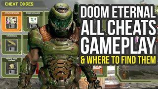 Doom Eternal Cheat Codes Gameplay & Where To Find Them (Doom Eternal Cheats)