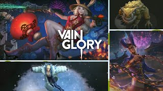 Vainglory Update 3.0 - Legendary Skin Vox on Ice, New Skin Gwen, New Skin Reza and Toad for 5v5 map