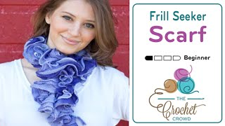 How to Knit a Scarf: Frill Seekers