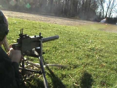 Browning 1919A4 Machine Gun