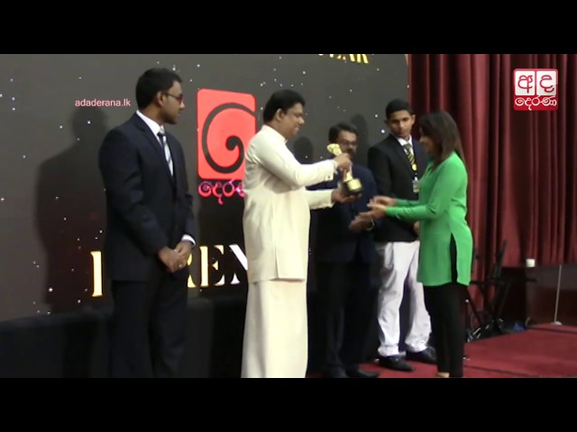 Derana named Most Popular TV Channel at 4th DS Students' Brand  Awards