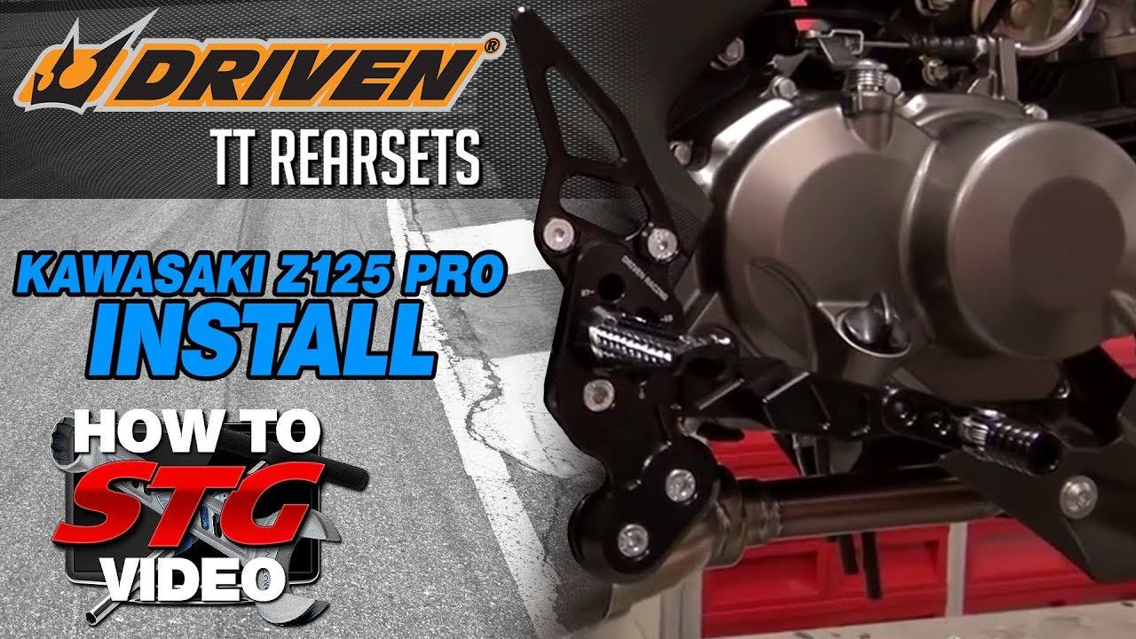 2017 Kawasaki Z125 Pro STG Project Bike