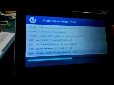 iMedia Blaze 9 Boot Recovery Firmware Fix