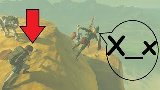 Can Link be Killed by a NPC??! Zelda BotW