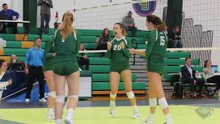 Babson Women's Volleyball vs. Ithaca in NCAA Tournament (11/12/17)