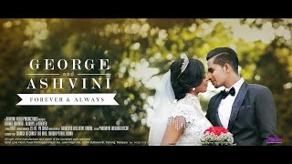 Indian Church Wedding | George & Ashivini | Forever & Always by Digimax Video Productions