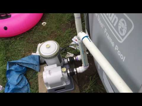 hook up a pool filter