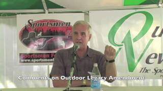 Minnesota Governor Mark Dayton speaks out on outdoor issues (2010 debate)