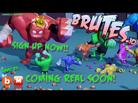 NEW BRUTES.IO: [TOASTY TRAILER] UPDATE PUERMAN ИO// WEAPON SHOWCASE: SIGN UP NOW!!