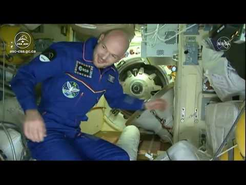 LIVE – Hatch opening and welcoming aboard the ISS - Part 2