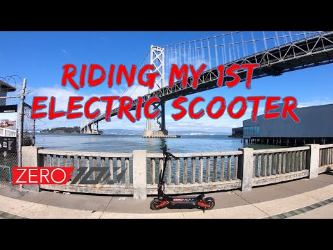 Фото First Time Ever Riding an Electric Scooter | Zero 10x | GoPro Hero 7 RAW FPV Footage San Francisco