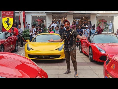 MEET THE RICH KIDS Of MUMBAI !! FERRARI SUPERCARS INDIA