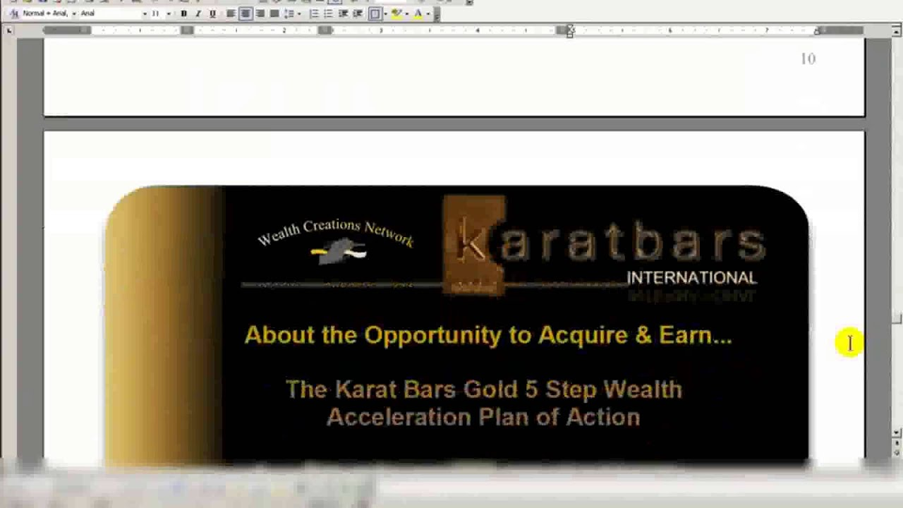 karatbars international gold opportunity - 1280×720