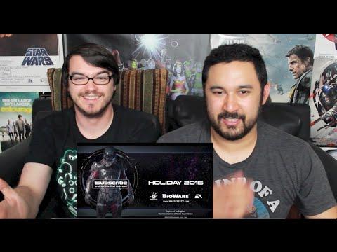 MASS EFFECT: ANDROMEDA - E3 2015 TRAILER REACTION & REVIEW!!!